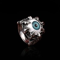 Кольцо Глаз призрака №2 (синий)