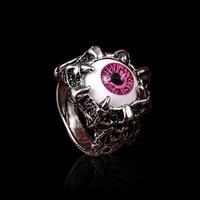Кольцо Глаз призрака №2 (красный)