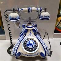 """Телефон """"Гжель"""" раритет"""