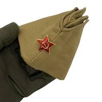 Пилотка военно-полевая СССР со звездой