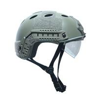 Шлем Ops-Core с очками (Олива)