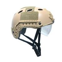 Шлем Ops-Core с очками (Койот)