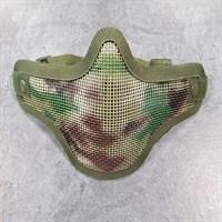 Маска-сетка с 2-мя ремешками на ниж. часть лица ACU