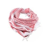 Арафатка Tactical Shemagh White/Red (Dagger)