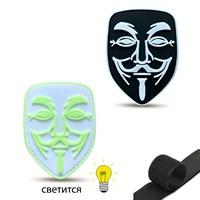 Патч Анонимнус Anonymous velcro (микс)