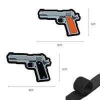 Патч Пистолет 1911 velcro (микс)