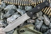 Нож тактический Maximus ст.AUS8 TW (Tacwash, G10 Черная рукоять)