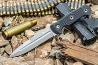 Нож тактический Legion ст.AUS8 S (Сатин, G10 Черная рукоять)