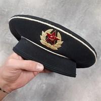 Бескозырка морская с кокардой (без ленточки) СССР