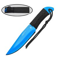 """Нож для метания """"Дартс-1 """" ст.420 синий"""
